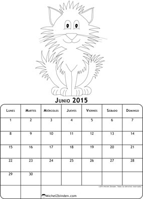 calendario-junio-2015-dibujo-para-colorear-gato-l