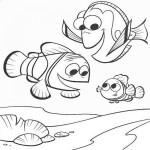 Imágenes de Buscando a Nemo para colorear