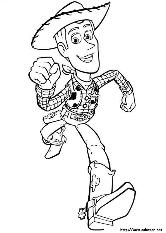 Toy Story 2 Coloring Pages