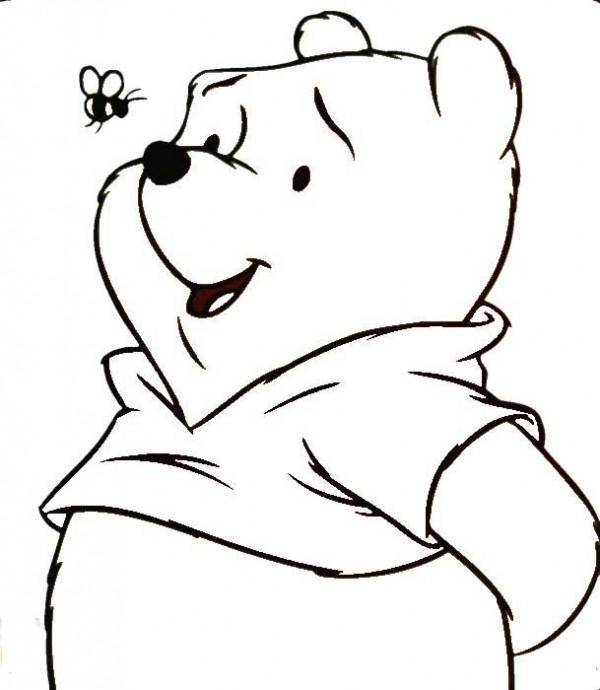 Winnie Pooh, imágenes para pintar  Colorear imágenes