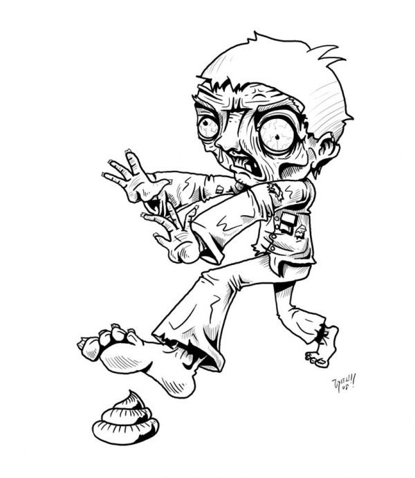 Zombies-Dibujo-Colorear-26