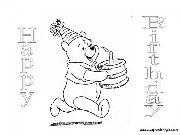 Felíz Cumpleaños – Dibujos para descargar, imprimir y ...