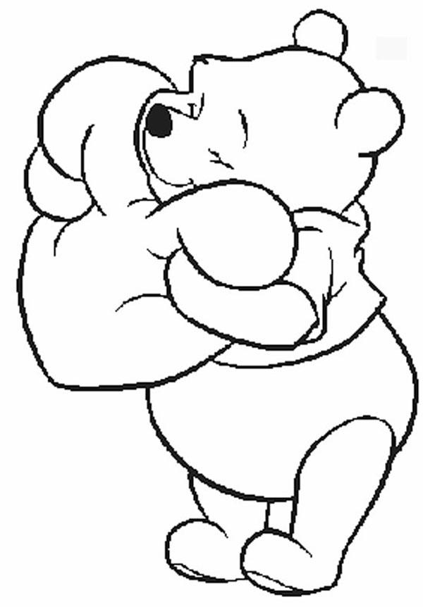 Dibujos De Winnie Pooh Para Colorear En La Computadora - ARCHIDEV