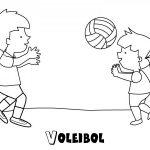 Imágenes para pintar de voleibol