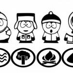 Imágenes para pintar de South Park