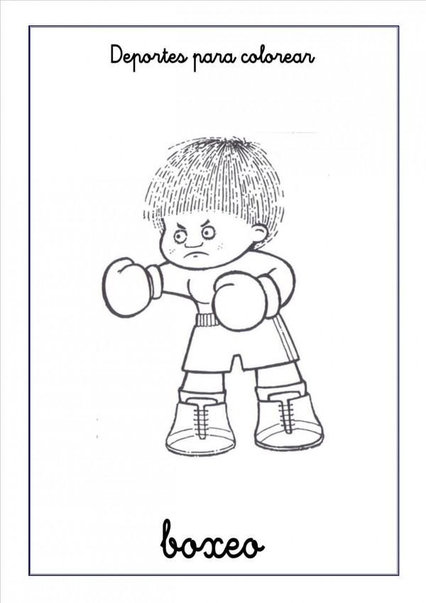 boxeo-para-colorear