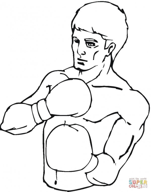 boxer-coloring-page