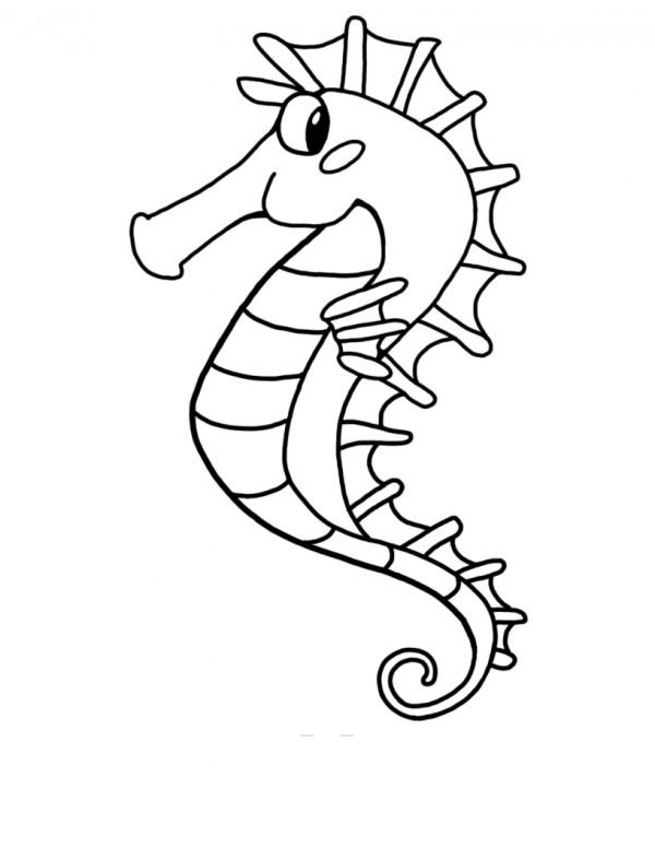 Im 225 Genes De Caballito De Mar Para Pintar Colorear Im 225 Genes