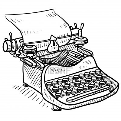 Im genes de maquinas para escribir para colorear - Maquinas para pintar ...