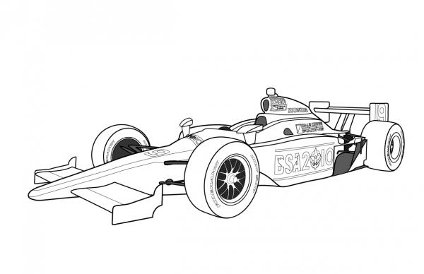 formule 1 max verstappen kleurplaat bull rb raceauto