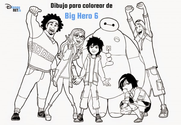 dibujo-imprimir-big-hero-6