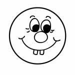 Emoticones divertidos para pintar y compartir con los niños