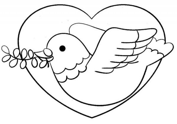 Imágenes Para Colorear Dibujos Del Día De La Paz: Dibujos Para Pintar Del Día Internacional De La Paz