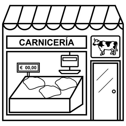 Carnicerías – Dibujos para descargar, imprimir y pintar ...