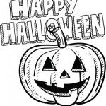 DIbujos de Happy Halloween para imprimir y pintar