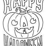 Dibujos de calabazas de Halloween para imprimir y pintar