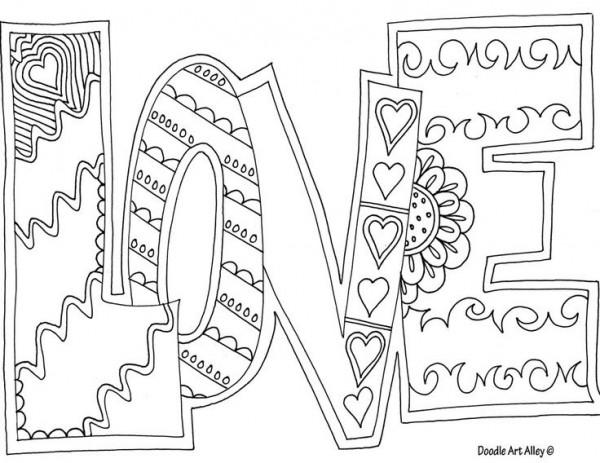 25 Dibujos De Amor Para Descargar Imprimir Y Pintar