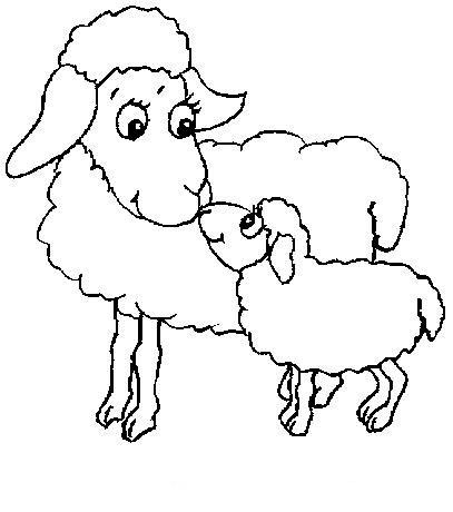 Ovejas para colorear gallery - Dessin mouton ...