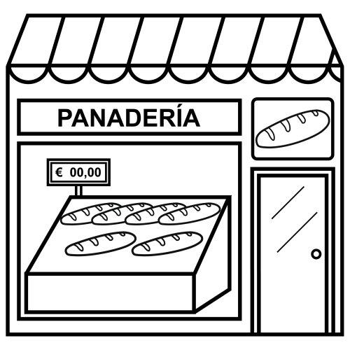 Dibujos de Panaderías para imprimir y colorear | Colorear imágenes