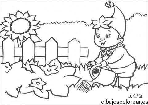 Galerry flower garden coloring pages printable