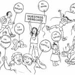 Día Internacional de los Derechos Humanos – Dibujos para imprimir y pintar