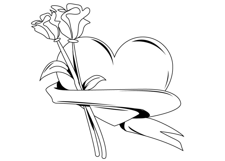 74 corazones de amor para pintar imprimir descargar y - Pasos para pintar una pared ...