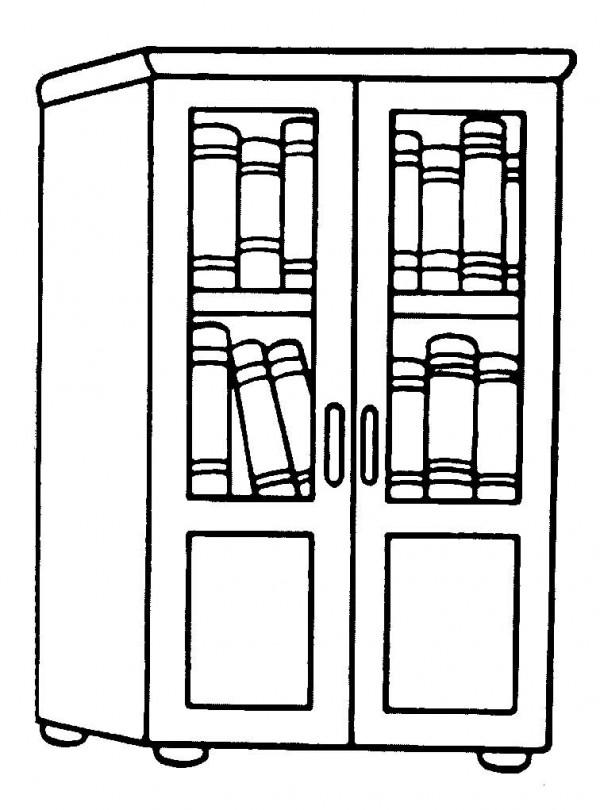 dibujos de muebles para imprimir y colorear | colorear imágenes - Dibujo De Muebles