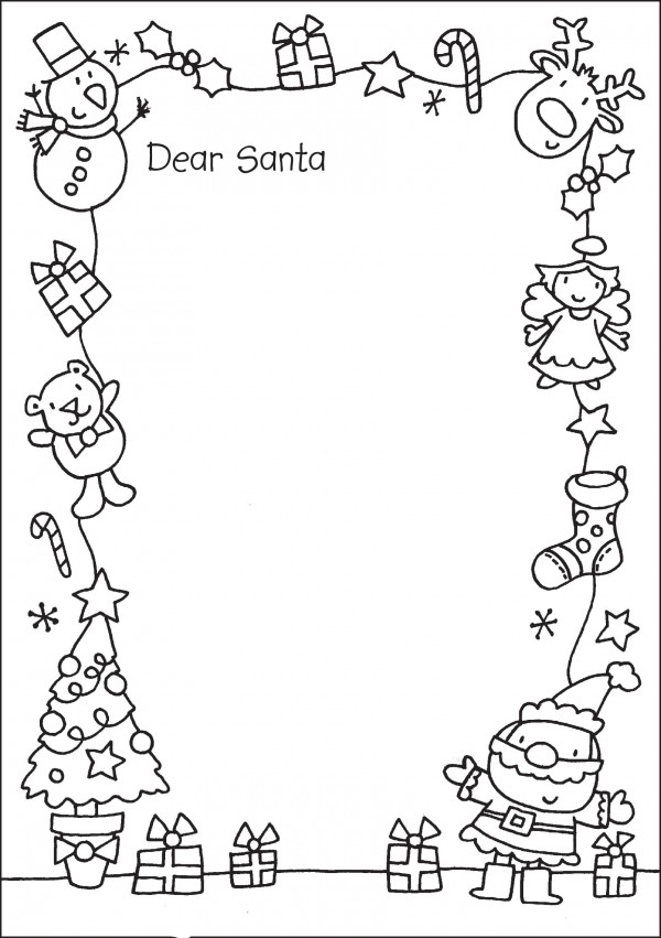 How to write a letter to santa claus in spanish