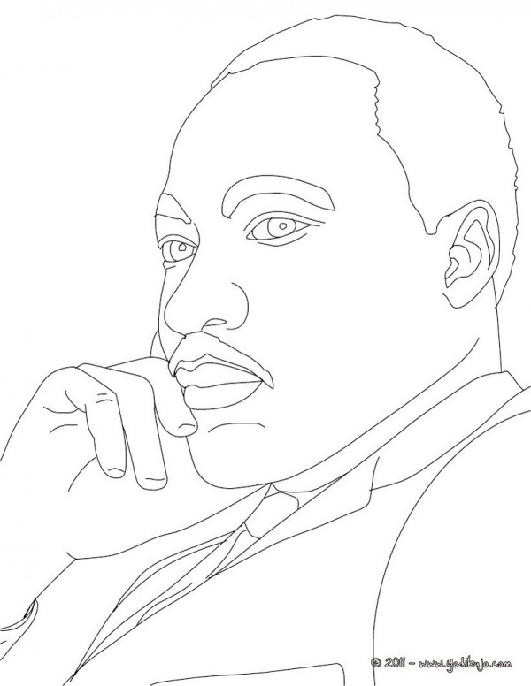 Dibujos De Martin Luther King Para Imprimir Y Pintar
