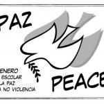 Dibujos para colorear del Día Escolar de la No Violencia y la Paz