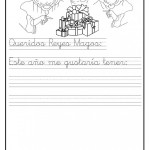 Cartas para pintar y pedir los regalos del Día de Reyes