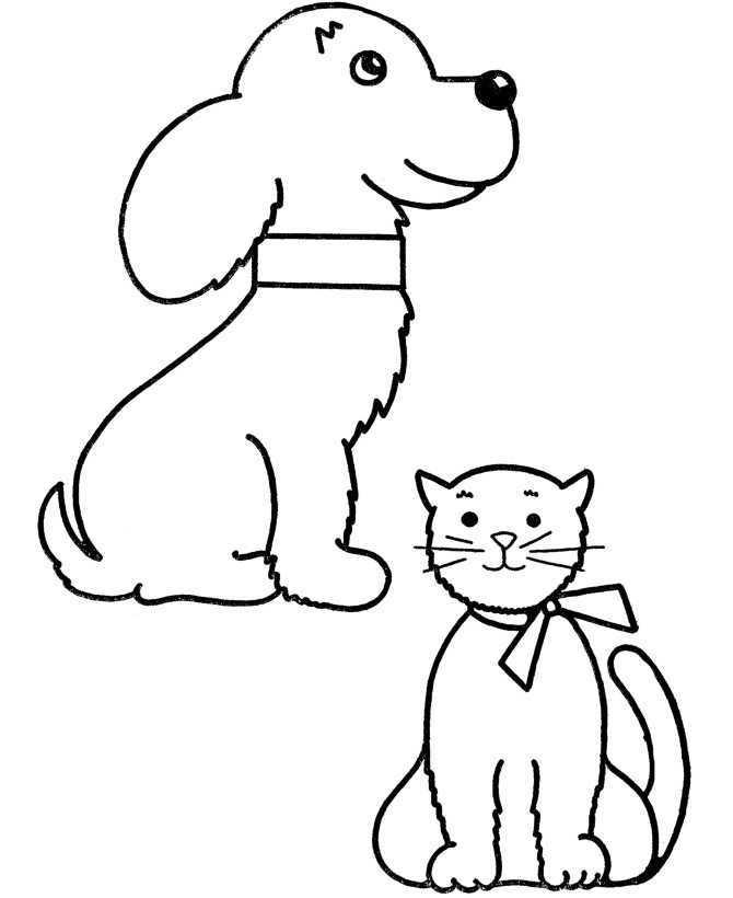 89 Dibujos de gatos para imprimir y colorear | Colorear ...