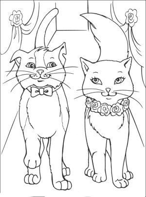 pussyfoot coloring pages - photo#1