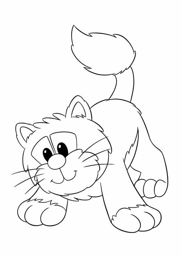 89 Dibujos de gatos para imprimir y colorear  Colorear imgenes