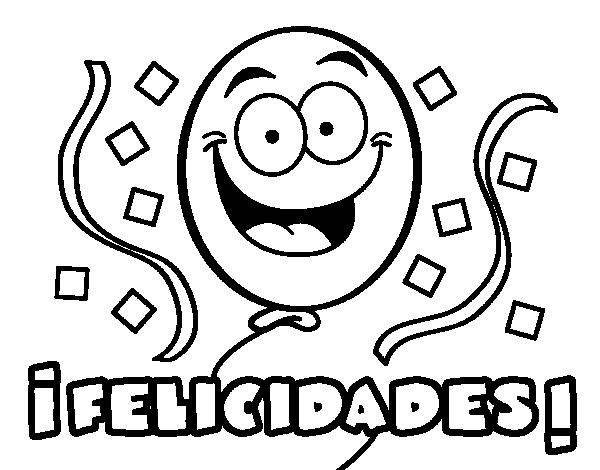 Felicitaciones De Cumpleaños Para Imprimir Y Colorear Free Of Charge