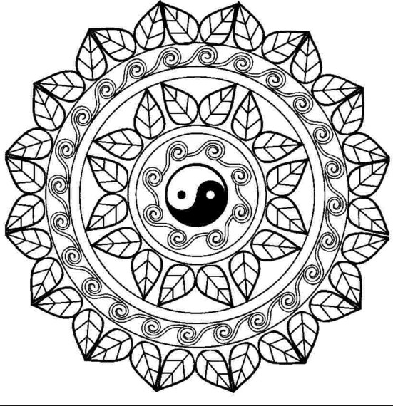 mandala-para-colorear-yin-yang