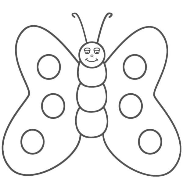 dibujos-de-mariposas-infantiles