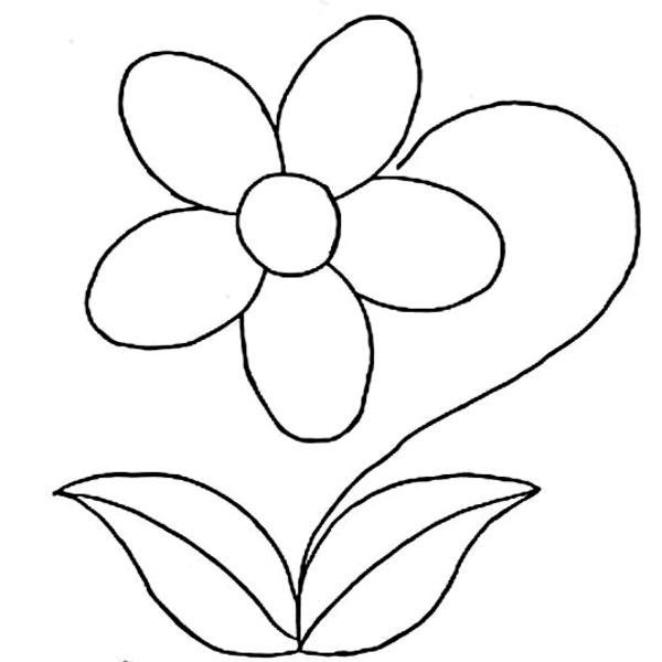 imagenes-de-flores-para-colorear-2