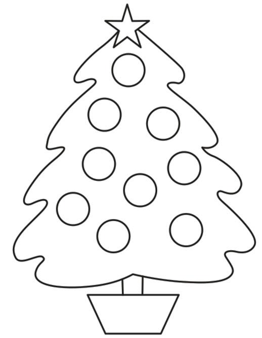 Im genes para colorear de rboles de navidad colorear for Arbol navideno para colorear