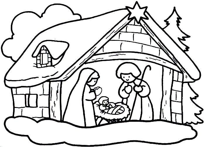 Dibujos De Navidad Para Colorear Imágenes Navidad Para: Imágenes Para Colorear De Dibujos De Navidad
