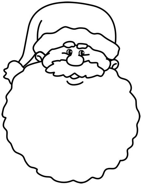 Imágenes para colorear de Papa Noel para Navidad ...