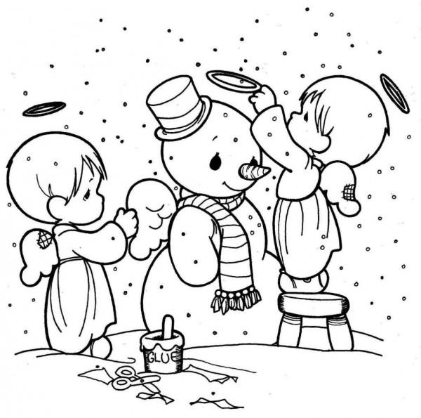 angeles-de-navidad-para-pintar