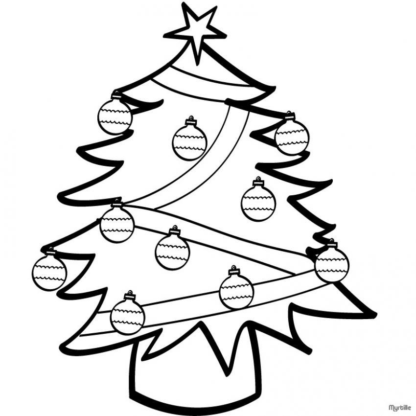 Im genes para colorear de dibujos de navidad colorear - Dibujos de arboles de navidad decorados ...