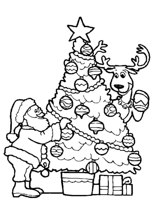 Imágenes para colorear de Árboles de Navidad  Colorear ...