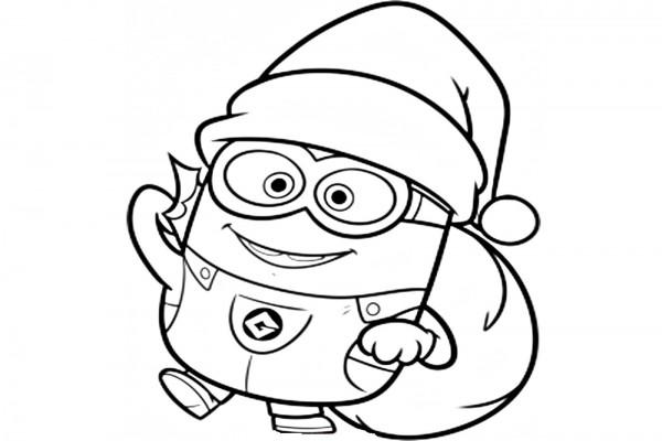 Imgenes para colorear de Dibujos de Navidad  Colorear imgenes