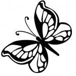 Imágenes de mariposas para colorear dibujos hermosos