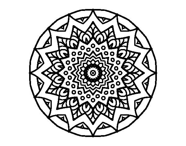 Mandalas De Dragones Para Colorear Descargar Imprimir Y: 60 Imágenes De Mandalas Para Colorear Dibujos Para