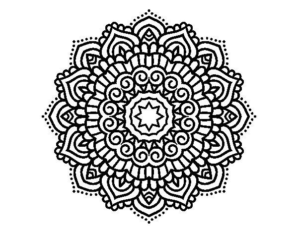 Dibujos De Mandalas: 60 Imágenes De Mandalas Para Colorear Dibujos Para