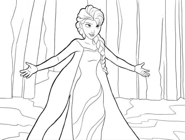 Frozen Dibujos Para Colorear E Imprimir: Imágenes Para Colorear De Frozen Para Descargar E Imprimir
