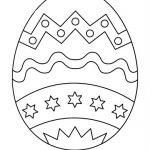 Imágenes de Huevos de Pascua para colorear